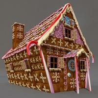 fable cottage 3d c4d