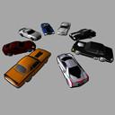 race car fbx