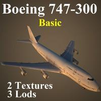 3d max boeing basic