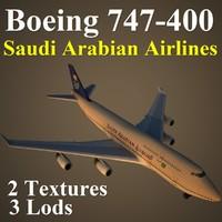 boeing 747-400 sva 3d model