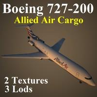 maya boeing 727-200 ajk