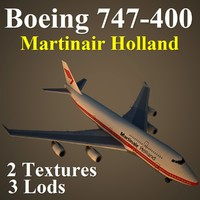 3dsmax boeing 747-400 mph