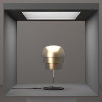 3d hd lamp design model