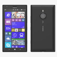 3d 3ds nokia lumia 1520 phablet