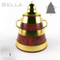 traditional sella 3d max