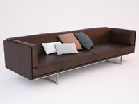 3d model sofa busnelli blumun
