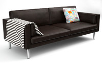 3d model of ikea sater sofa