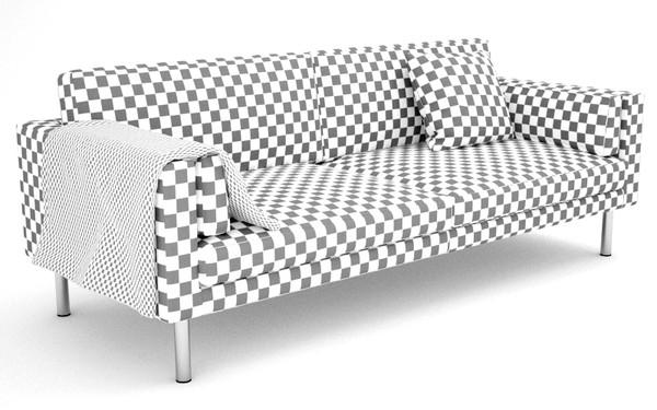 Malm Bed Ikea 3d X