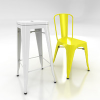 Xavier Pauchard Tolix Chair & Stool