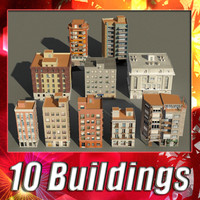 3d building collections