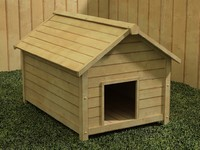 dog kennel 3d max