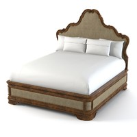 shcanding majorca upholstered 3d model