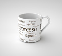 3d model espresso cup coffee