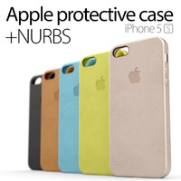 apple iphone 5s case 3d model