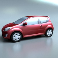 Twingo low poly