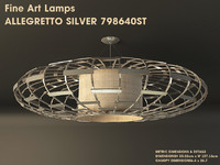 allegretto silver 798640st 3d model