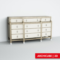 3d model chest drawer