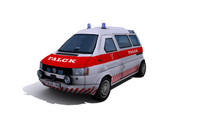 3d ambulance mercedes benz