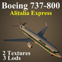 3d boeing 737-800 aza
