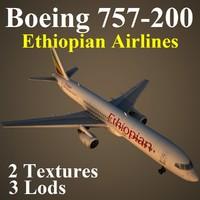 boeing 757-200 eth 3d max