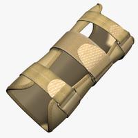 wrist brace 3d model