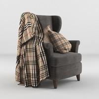 armchair blanket max
