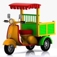 3d cartoon toon car