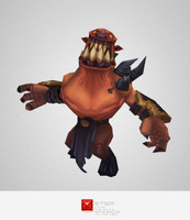 monster demon grunt 3d model