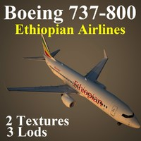 3ds max boeing 737-800 eth