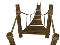 rope bridge 3d 3ds