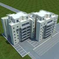 buildings 8 1 3d max