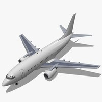3d boeing 737-500 737 model