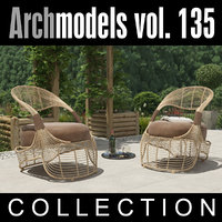 maya archmodels vol 135 outdoor furniture