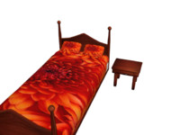 3d bed end