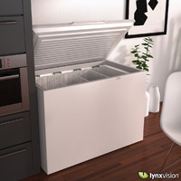 chest freezer miele 3d obj