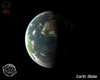 earth modeled mapped 3d 3ds