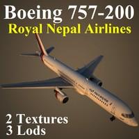 boeing 757-200 rna max