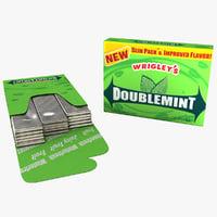 3ds pack gum doublemint