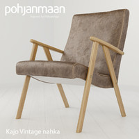 3d model chair kajo