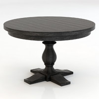 Restoration Hardware Monastery Round Dining Table