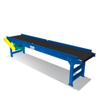 belted trough bed conveyor