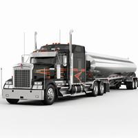 w900 trailer 3d max
