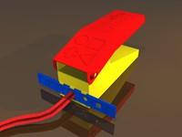 play doh fun factory 3d model