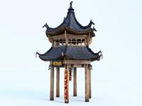 maya chinese pavilion