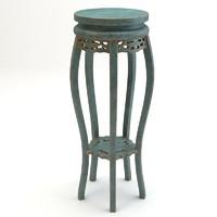 details chair 3d 3ds