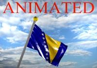 bosnia herzegovina flag 3d max