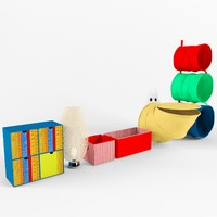IKEA furniture for a nursery