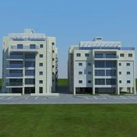 3d model buildings