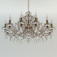 3d model classic chandelier ceiling