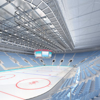 ice hockey arena